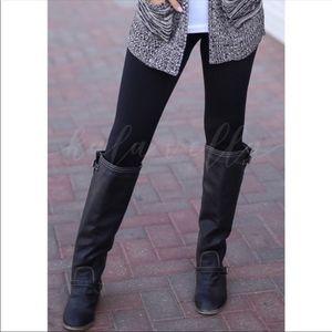Soft Brushed/Butter Soft Fleece Lined Leggings